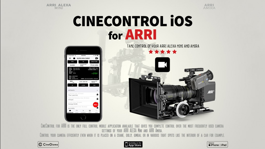 CineControl launches in Beta